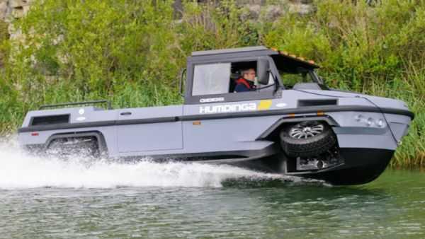 gibbs Humdinga amphibious truck vehicle boat pics 006