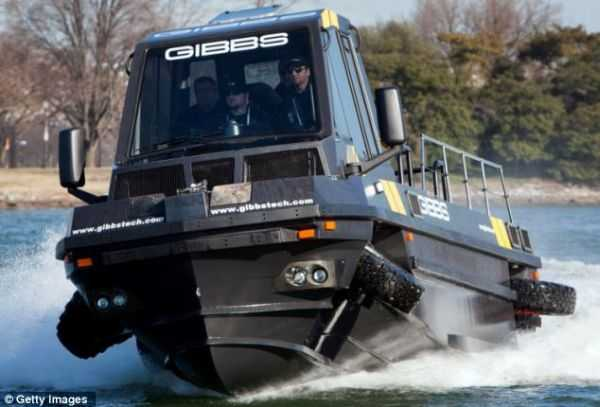 gibbs Phibian Amphibious amphibious truck vehicle boat pics 003