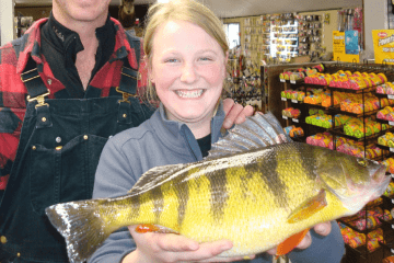 12 Year Old Catches World Record Perch featured 2