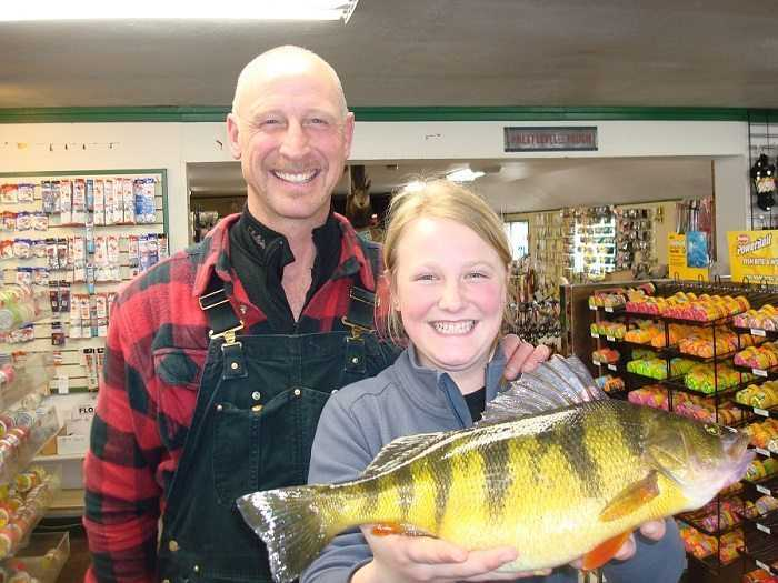 12 Year Old Catches World Record Perch pictures 2
