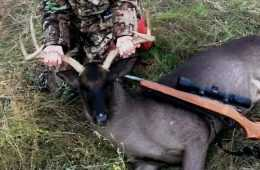 A Teen In Texas Harvests An Ultra Rare All Black Whitetail Buck Pictures Featured