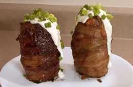 Bbq Bacon Volcano Potato