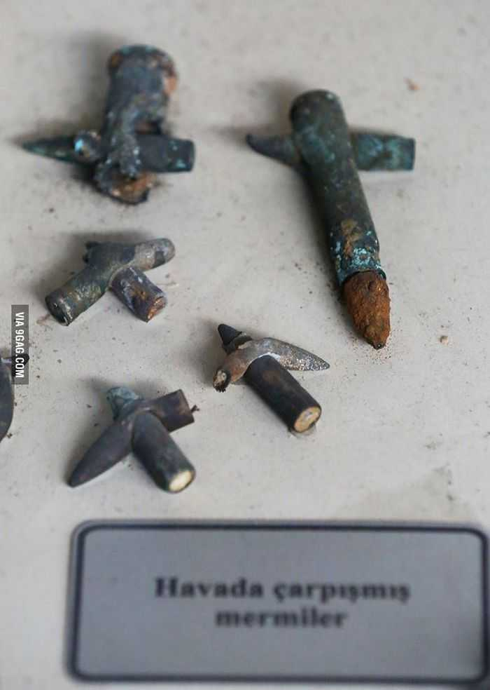 Did These Two Bullets Collide Midair pictures 003