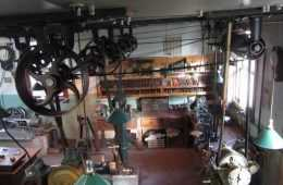 Inside Look At An Early 1900s Steam Powered Machine Shop videos featured