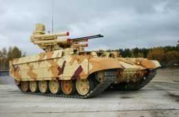 Russian BMPT-72 Terminator 2