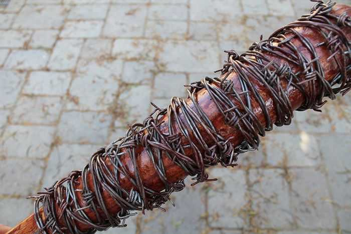 Negan's Barbed Wire Bat Lucille Replica 5004