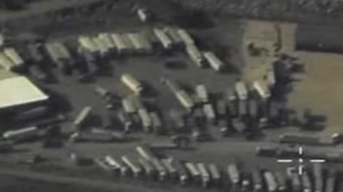 Russia Spots Then Bombs 12,000 ISIS Oil Trucks pictures 003
