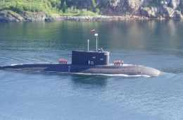 Russian Submarine Launching Cruise Missiles At ISIS video featured
