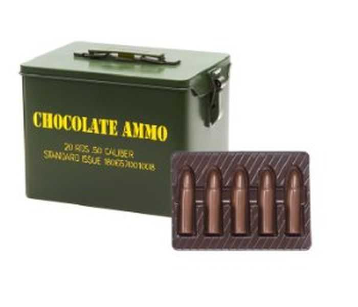 Chocolate Ammo - Great Valentine's Day Gift For Gun Guys pictures 002