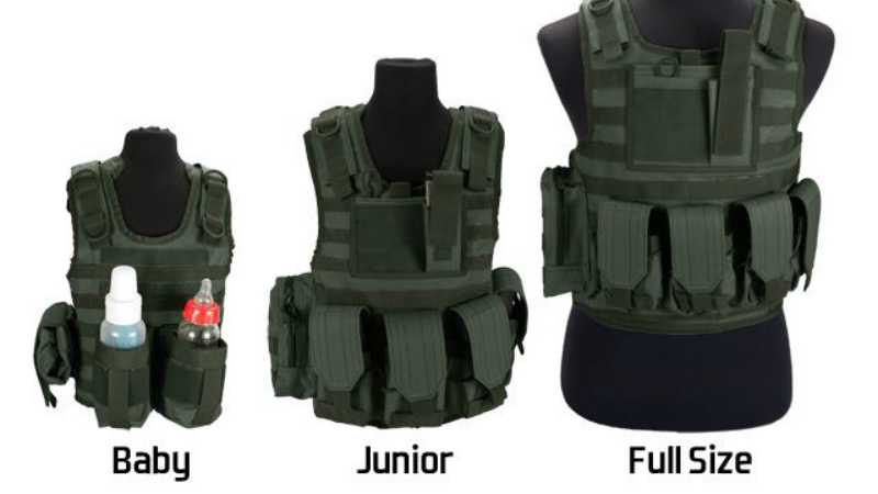 Evike Matrix Tactical Systems Baby Ciras Tactical Vest featured