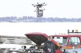 FAA Grounds Drone Beer Delivery For Ice Fishermen featured