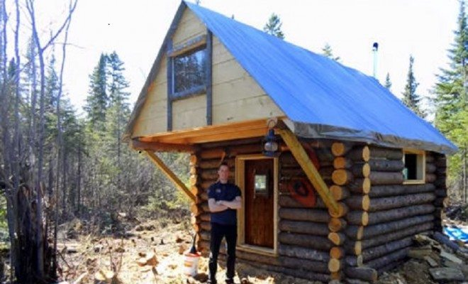 How To Build Your Own Log Cabin For 500