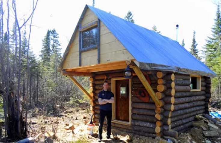 How to build your own log cabin for 500 - How to build a small cabin ...
