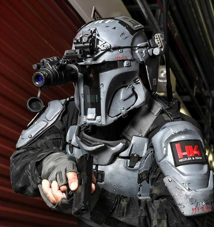Meet The Mandalorian Ballistic Armor - From Heckler & Koch And AR500 more pistures