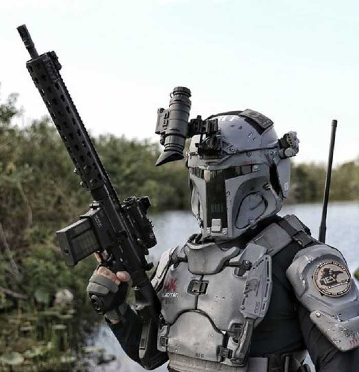 Meet The Mandalorian Ballistic Armor From Heckler Koch And AR500 pictures (3)