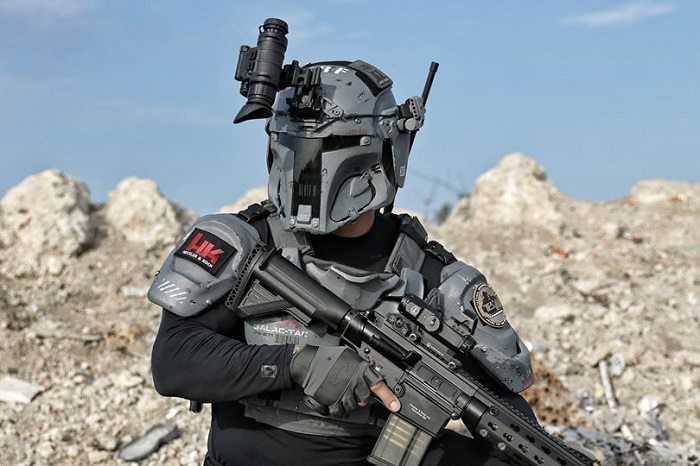 Meet The Mandalorian Ballistic Armor - From Heckler & Koch And AR500 pictures (4)
