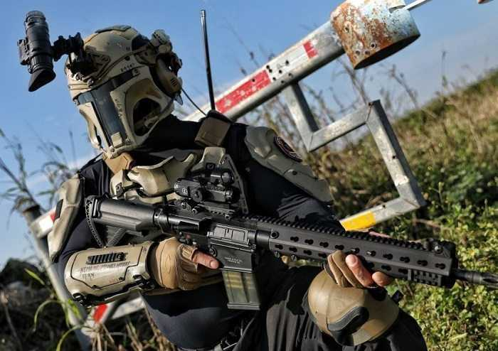 Meet The Mandalorian Ballistic Armor From Heckler Koch And AR500 pictures (5)