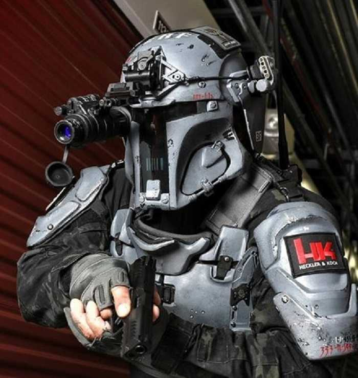 Meet The Mandalorian Ballistic Armor From Heckler Koch And AR500 pictures(1)