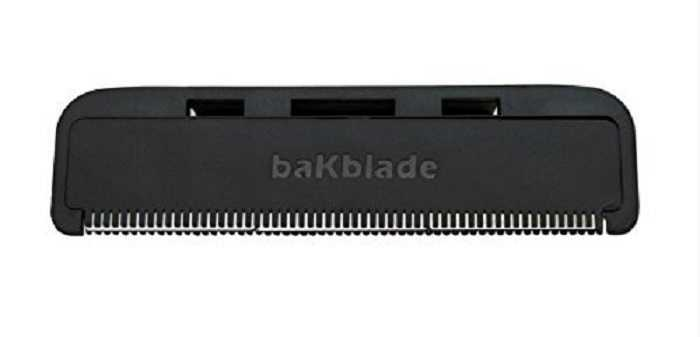 Meet The baKblade BIGMOUTH DIY Back Hair Shaver pictures 2