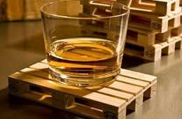 Mini Wooden Palette Drink Coasters featured