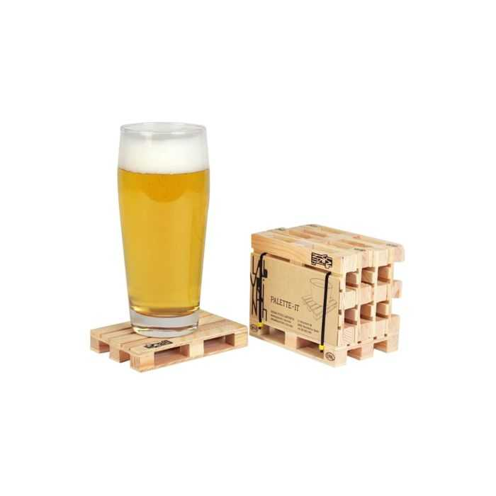 Mini Wooden Palette Drink Coasters pictures 005
