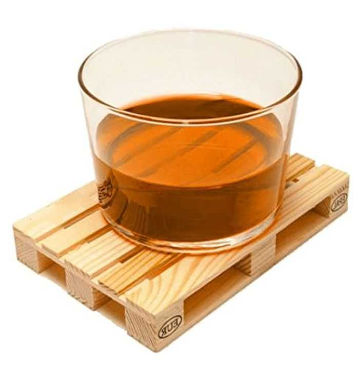 Mini Wooden Palette Drink Coasters Perfect For Your Bar