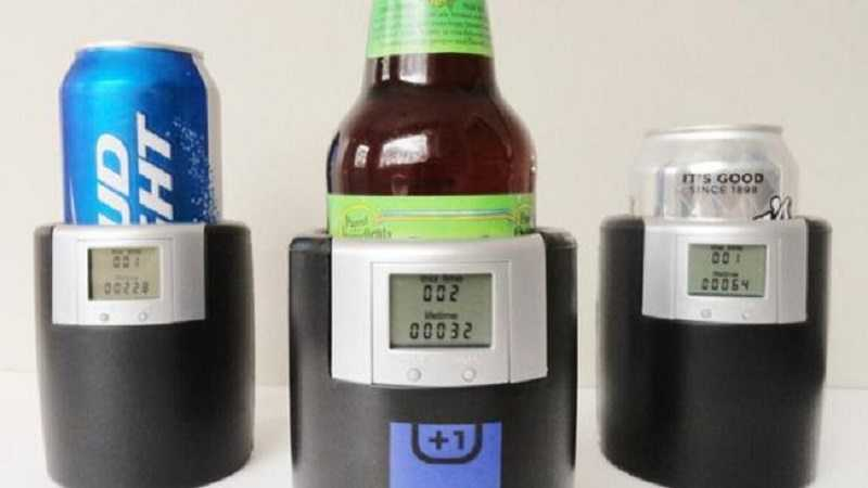 The Bevometer - Beer Koozie That Counts How Many Beer You Have Drank video featured