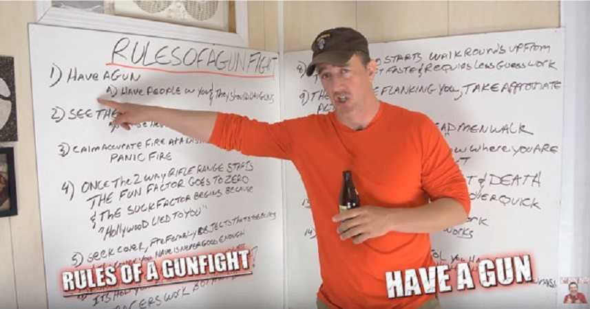 The Rules Of A Gunfight - According To A Drunk Green Beret terrence popp featured 2