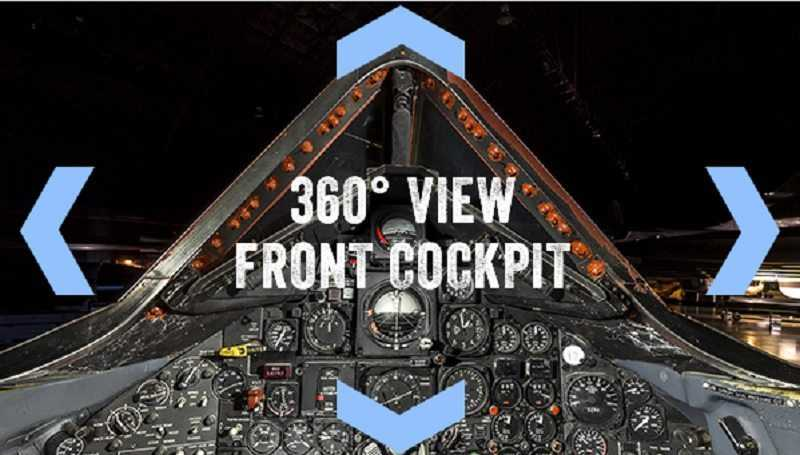 360° View Of The Inside Of A SR-71 Blackbird Cockpit featured