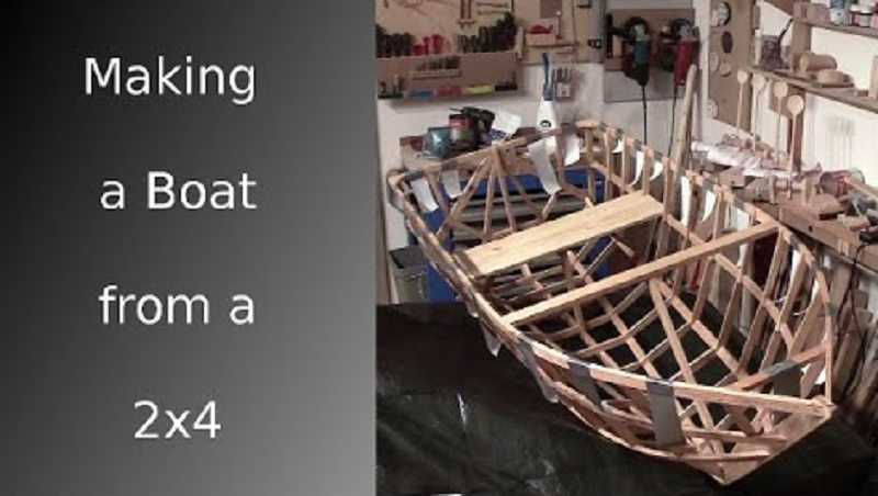 How To Build A Boat From A Single 2x4 featured
