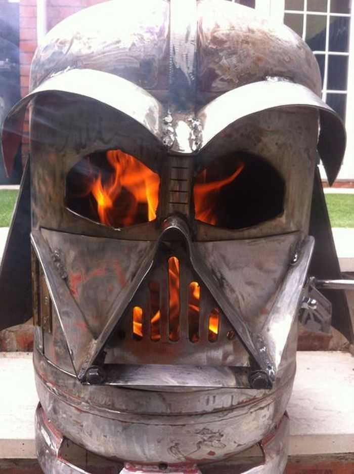 How To Make The Big Bad Vader Log Burner pictures 004