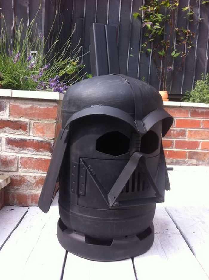 How To Make The Big Bad Vader Log Burner pictures 005