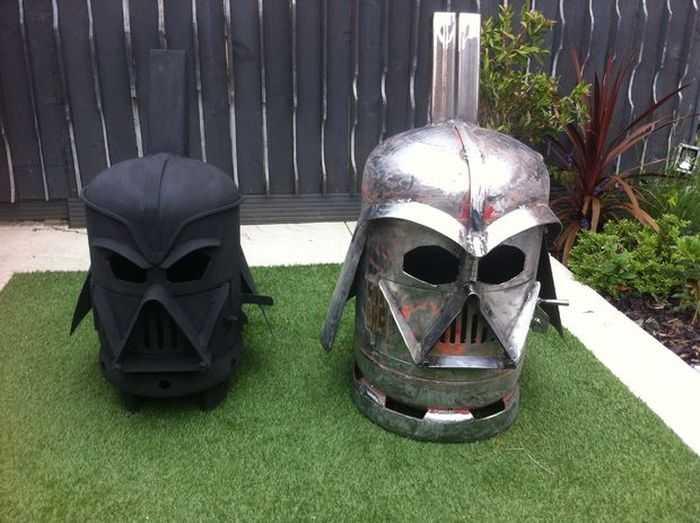 How To Make The Big Bad Vader Log Burner pictures 006