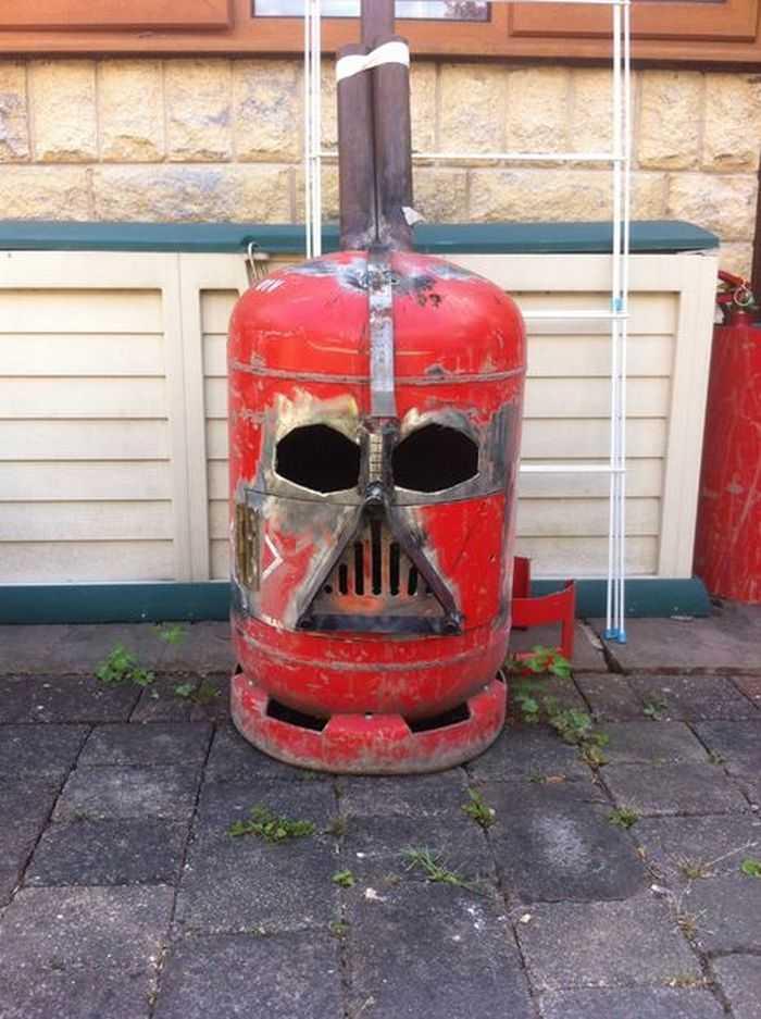 How To Make The Big Bad Vader Log Burner pictures 007