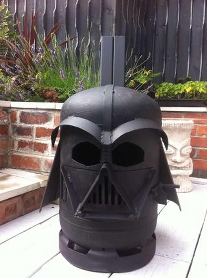 How To Make The Big Bad Vader Log Burner pictures 008