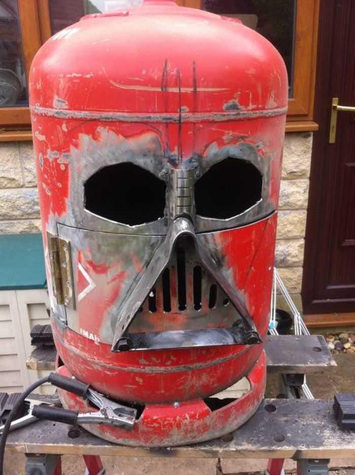 How To Make The Big Bad Vader Log Burner pictures 009