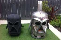 How To Make The Big Darth Vader Wood Stove featured