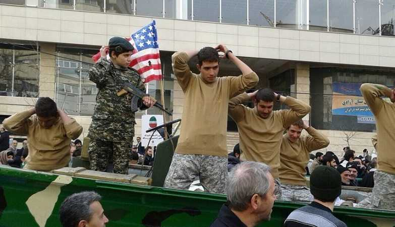 Iran Mocking United States Sailors In A Parade featured