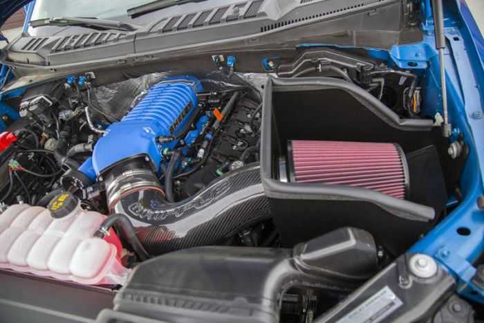 Meet The 700 Hp Supercharged 2016 Shelby F-150 pictures 005