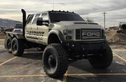 Meet The Super Six - The Six Door Ford F-550 Heavy D And DieselSellerz SEMA 2015 Build featured