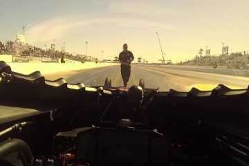 POV In A Top Fuel Dragster - Going From 0-316 MPH In 3.77 Seconds featured