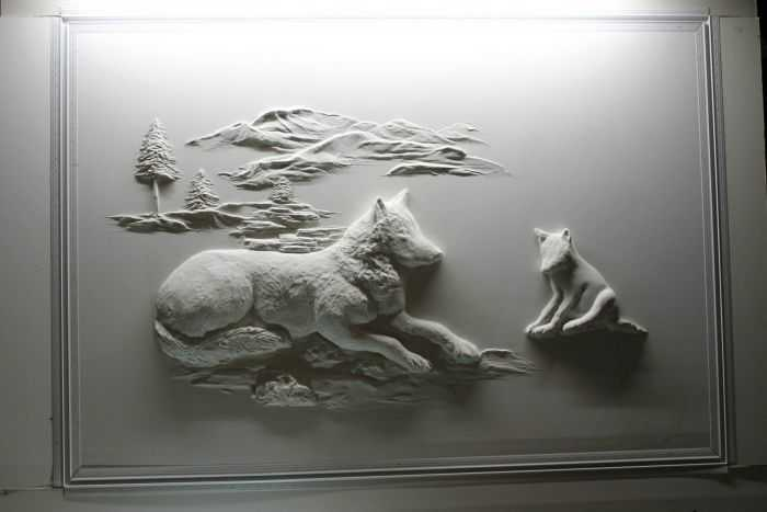 Pretty Amazing Drywall Art - Meet Bernie Mitchell pictures 002
