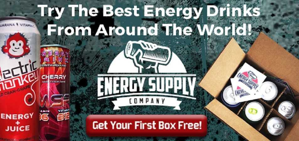 World's First Energy Drink Subscription Box - Energy Supply Company review featured
