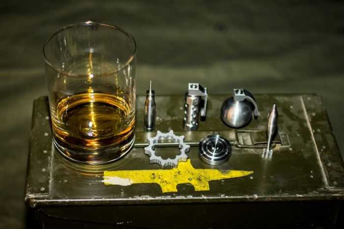 Battle Rattle Whiskey Chillers 501