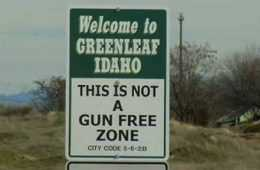 City In Idaho Posts Signs Declaring That It Is Not A Gun Free Zone featured