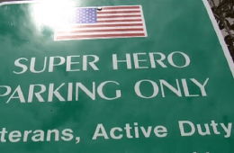 Florida City Now Has Super Hero Parking Spots For Veterans And First Responders featured