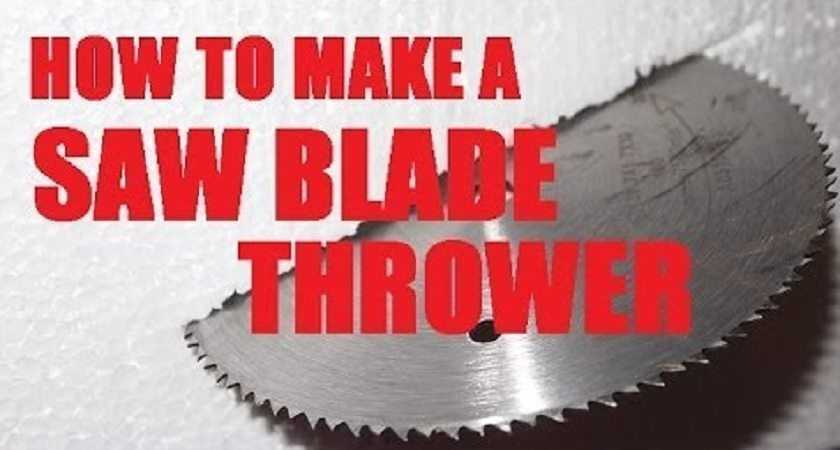 How To Build The Saw Blade Slinger AKA The Disaster Bat featured