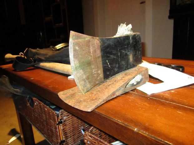 Meet The Cross Bladed Axe Split Wood Like A Champ And