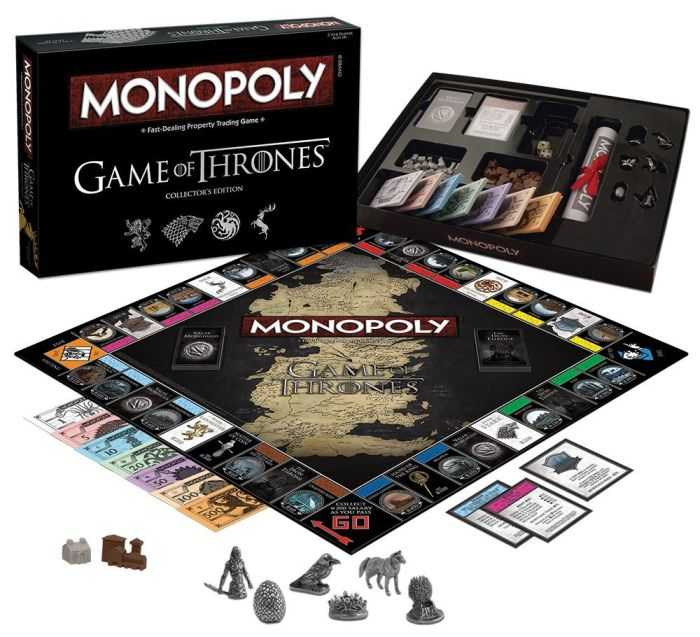 Monopoly Game Of Thrones Collector's Edition 502