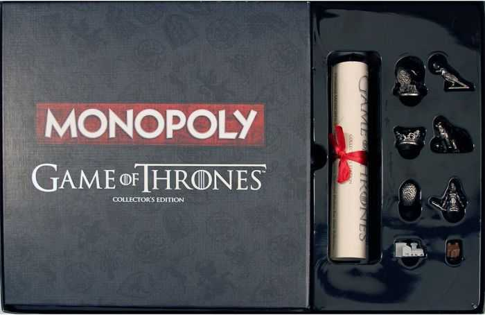 Monopoly Game Of Thrones Collector's Edition 505
